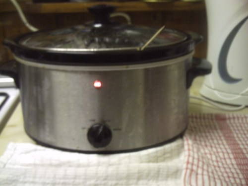 My slow cooker